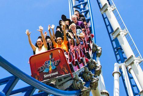 Kennywood Sky Rocket Roller Coaster