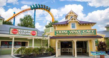 Amusement park candid
