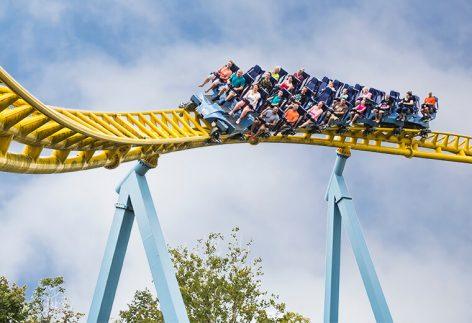 Hershey Park ride Skyrush Turn