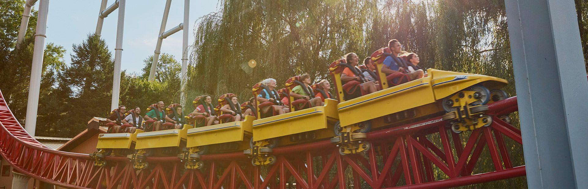 Hershey Rides Coasters StormRunner ride