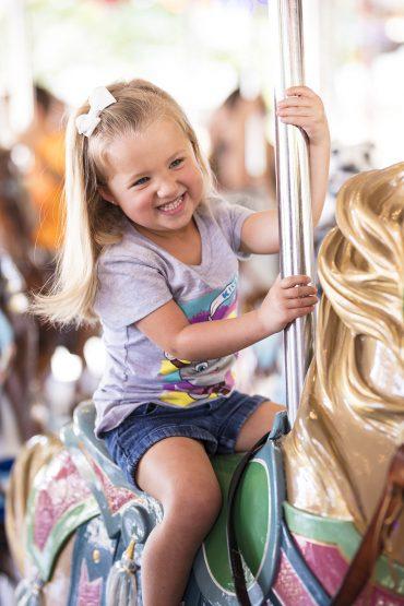 Hershey Park carousel ride