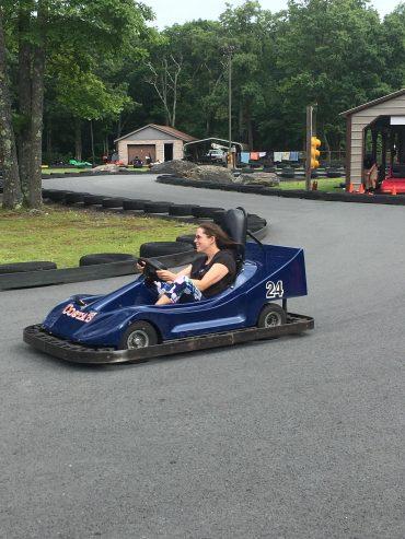 Amusement park car