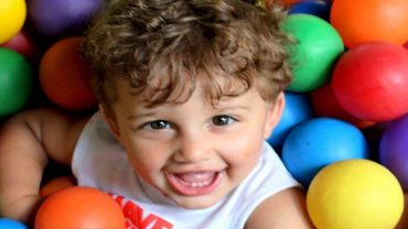 Idlewild Ball Pit Smiley Boy