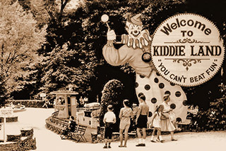Idlewild Park in the 1950s
