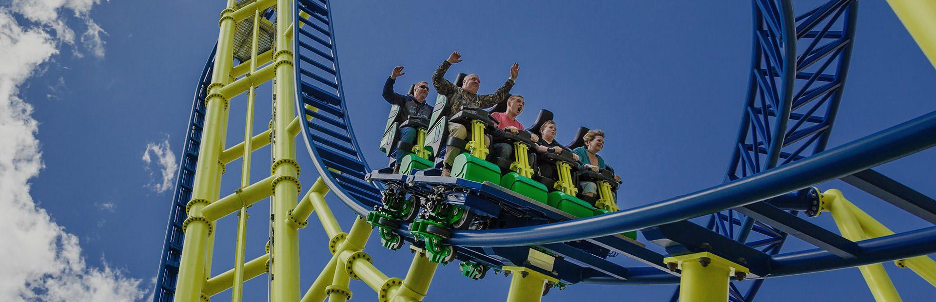 Knoebels Amusement Park Impulse 2 ride