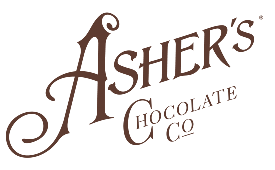 Ashers Chocolate logo