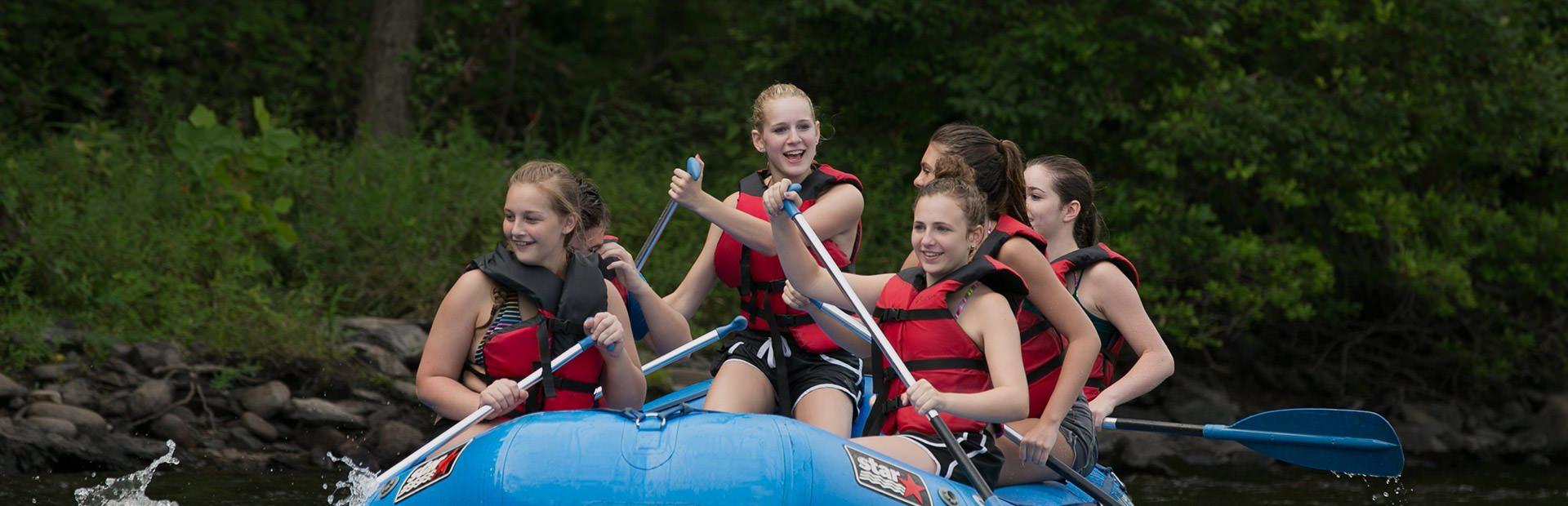 Whitewater Rafting Pocono Mountains
