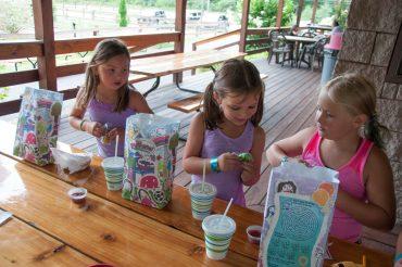 Amusement park kids meals