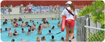 Lifeguard pool