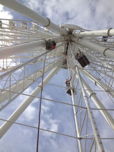 Amusement park ride Skywheel